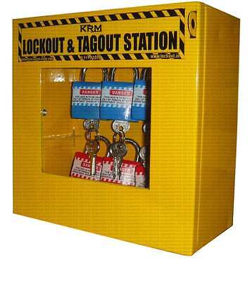 Lockout Tagout Station without Material