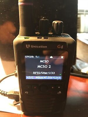 UNICATION G4 P25 Voice Pager Warranty . Makes an an excellent scanner.
