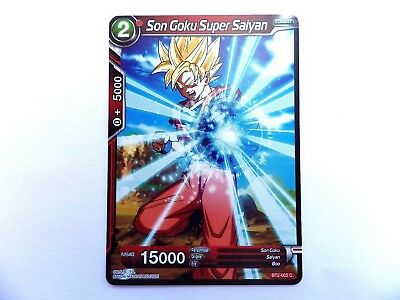 CARTE DBS BT2-005 C Union force Dragon Ball Super Card Game PROMO