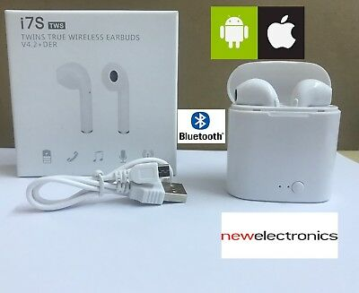 Airpods Coppia Auricolari Bluetooth Cuffie Wireless Microfono Per Android Apple