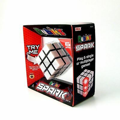 Rubik's Spark 3x3 Rubik's Cube Play 6 Different Games Brand New in Box