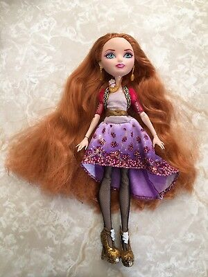 """Monster High 11"""" Doll EVER AFTER HOLLY O'HAIR RAPUNZEL FIRST CHAPTER SIGNATURE"""