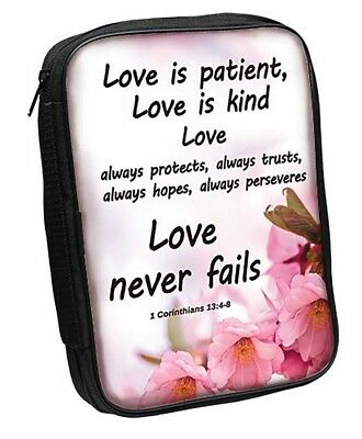 1 Corinthians 13:4-8 Bible Cover (81465) Love Is Patient, Love is Kind,