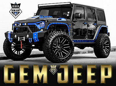 2018 Jeep Wrangler Fully Customized Unlimited Sport Utility 4-Door Custom Jeep - 2018 Jeep Wrangler Unlimited Sport -  LIFTED - Custom Interior