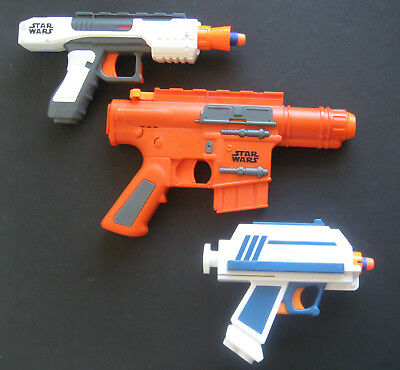 Star Wars NERF Blaster Gun Bundle Joblot x3