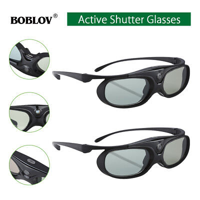 5X IR Active Shutter 3D Gles For Acer/BenQ/Optoma/NEC/Dell DLP ...