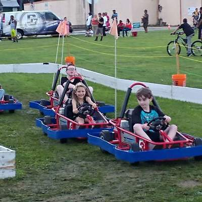 Child ELECTRIC Go Karts, Track, & Trailer! MOBILE or PERMANENT Easy to Maintain