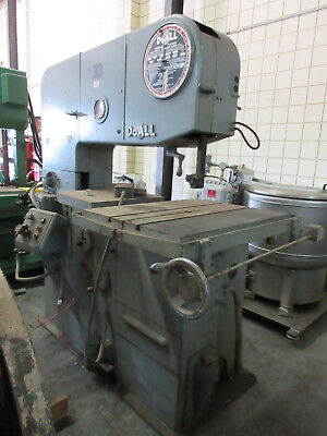 "DoALL 3612-3 36"" VERTICAL BAND SAW"