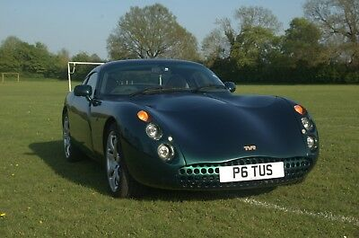 TVR Tuscan 4.0 - Green Starmist - Private Number Plate - Yr 2000
