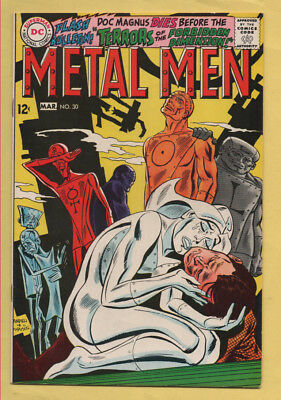 Metal Men #30 February-March 1968, DC, 1963 Series VF+