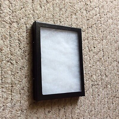 "(1 Only) 6 x 8"" x 3/4"" Display Case (""Riker"" type - Made in USA) FREE Shipping."