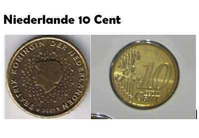 10centsmünze 1999 O 2000 O 2001 O2003 Königin Beatrix 10 Cent