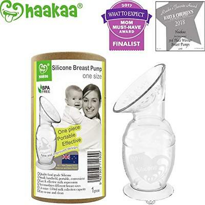 Haakaa 150ml Silicone Breast Pump with Suction Base 100% Food Grade Silicone