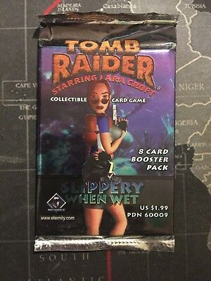 Tomb Raider CCG Slippery When Wet Sealed Booster - Limited Edition Expansion TCG