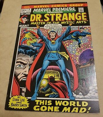 Marvel Premiere #3 DR STRANGE (1972) VF- HIGH GRADE KEY SERIES BEGINS SMITH ART