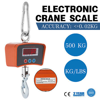 New 500 Kg Electronic Crane Scales Industrial Hanging Digital Weight