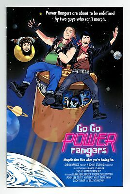 Go Go Power Rangers #9 1:25 Bustos Movie Variant Bagged Boarded Boom Studios Vf