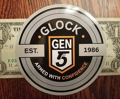 Glock GEN 5 authentic Sticker Decal