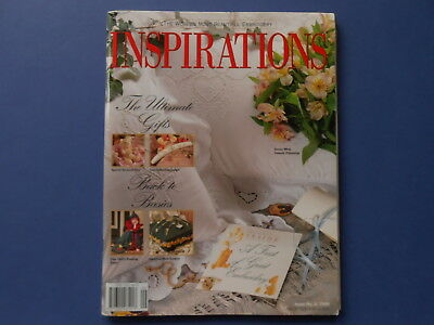 ## Inspirations Magazine - Issue 9 - Patterns Included - Embroidery