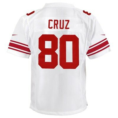 New VICTOR CRUZ NEW York Giants Nike Away White Game Jersey Youth (S XL  for cheap
