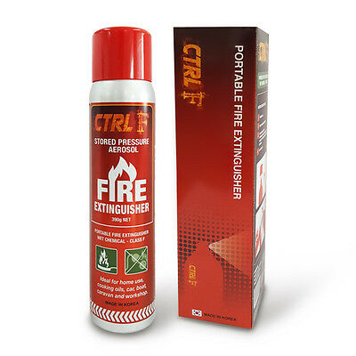 Twin pack (2 units)Class F - Wet Chemical Portable Fire Extinguisher