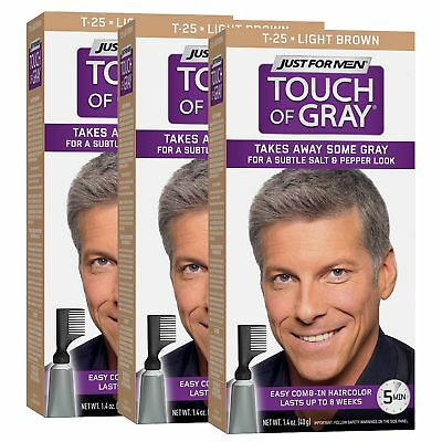 Just For Men Touch Of Gray Comb In Mens Hair Color Dark Brown 011509041371