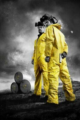 Breaking Bad BreakingBad White Pink TV Show Art Wall Cloth Poster Print  (501)
