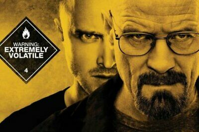 Breaking Bad BreakingBad White Pink TV Show Art Wall Cloth Poster Print  (507)