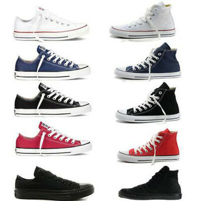 New ALL STARs Men's Chuck Taylor Ox Low High Top shoes casual Canvas Sneakers T