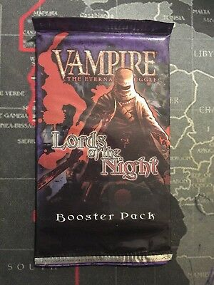 Vampire The Eternal Struggle - Lords of the Night Sealed Booster Pack - VTES