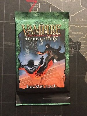 Vampire The Eternal Struggle - Third Edition Sealed Booster Pack - VTES 3rd