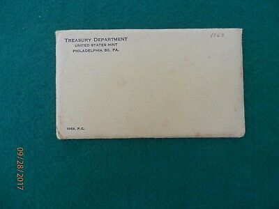 1963 P Proof SetIn original mint issued cellophane and envelope.