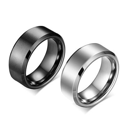 Titanium Stainless Steel Plated Rings Jewellery Wedding Rings For Man Woman