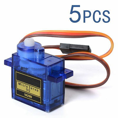 5 X Micro RC Servo Mini Gear 9G SG90 Für RC Helicopter Airplane Car Boat