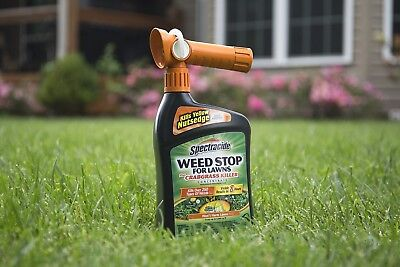 Spectracide Weed Stop For Lawns + Crabgrass Killer Concentrate, FREE SHIPPING