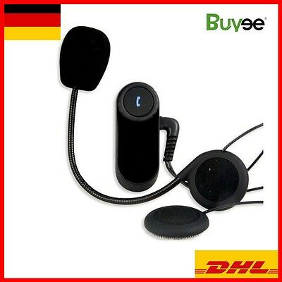 Motorrad Bluetooth Gegensprechanlage 800m Sprechanlage Helm Intercom Headset