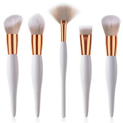 Foundation Makeup Brush Flat Top Kabuki Powder Liquid Cream Contour Bronzer Kit