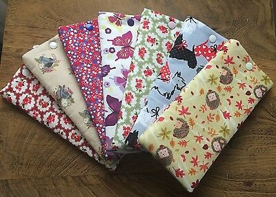 Handmade Fabric Glasses Sunglasses Soft Case Specs Pouch Bag  Assorted Patterns