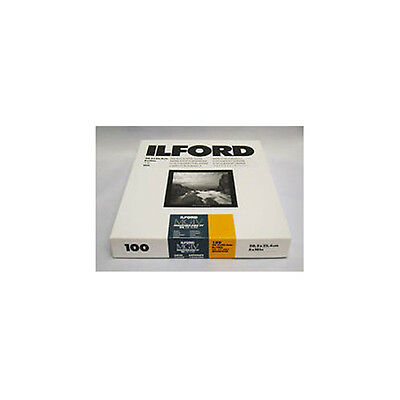 "Ilford Multigrade IVRC De Luxe Satin Black & White 10x8"" 20.3x25.4cm 100 sheet"