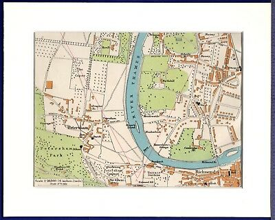 London On The Map Of England.1922 Antique London Map Of London England Black White Gallery Wall