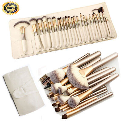 Professional Make up Brushes Set Cosmetic Tool Kabuki Makeup Kit+Luxury Bag UK