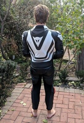 Dainese 1 Piece Motorcycle Leathers Race Suit size 48