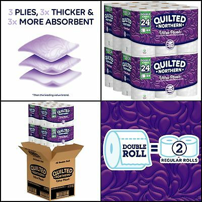 Quilted Northern Ultra Plush Bath Tissue 48 Double Rolls Toilet