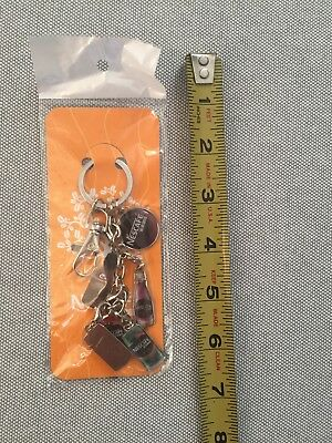 Nescafe Key Ring With Drinks Charms Chinese Exclusive