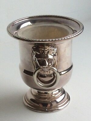 Small Urn Vase Silver Plate - Viners Sheffield