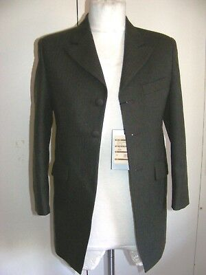 Childs brown wedding suit or Victorian Costume frockcoat & trousers Steampunk