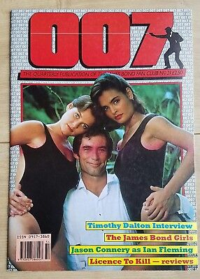 007 ● The Publication of The James Bond British Fan Club ● N°21 ● Winter 1989
