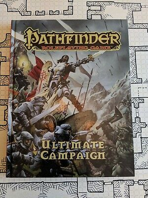 Pathfinder Roleplaying Game: Ultimate Campaign - LIKE NEW