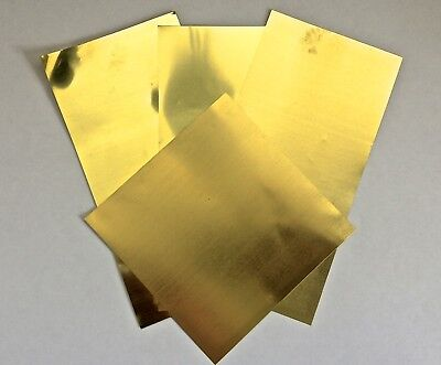 Brass Shims Assorted Sheets (0.001. 0.002. 0.003. 0.005)
