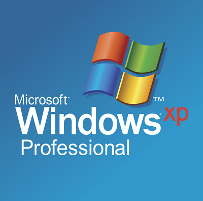 Windows XP Professional 32+64-Bit ISO Digital Download - With Product Key